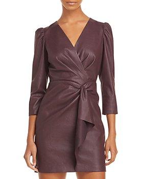 Rebecca Taylor - Vegan Leather Dress