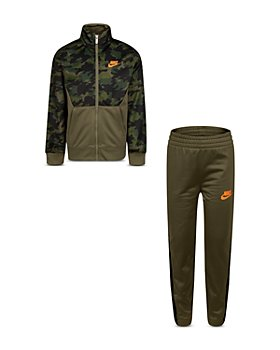 Nike - Boys' Camouflage Tricot Jacket & Jogger Pant Set - Little Kid