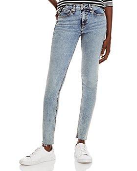 rag & bone - Cate Mid Rise Skinny Jeans in Birchleaf