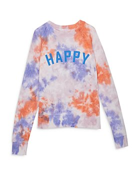 Spiritual Gangster - Girls' Happy Raglan Sweatshirt - Little Kid,Big Kid