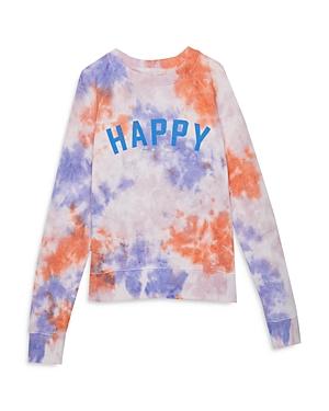 Spiritual Gangster Girls\\\' Happy Raglan Sweatshirt - Little Kid, Big Kid