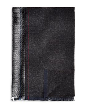 The Men's Store at Bloomingdale's - Oversized Plaid Woven Scarf - 100% Exclusive