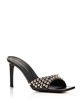 Giuseppe Zanotti - Women's 85 Square Toe Studded High Heel Sandals