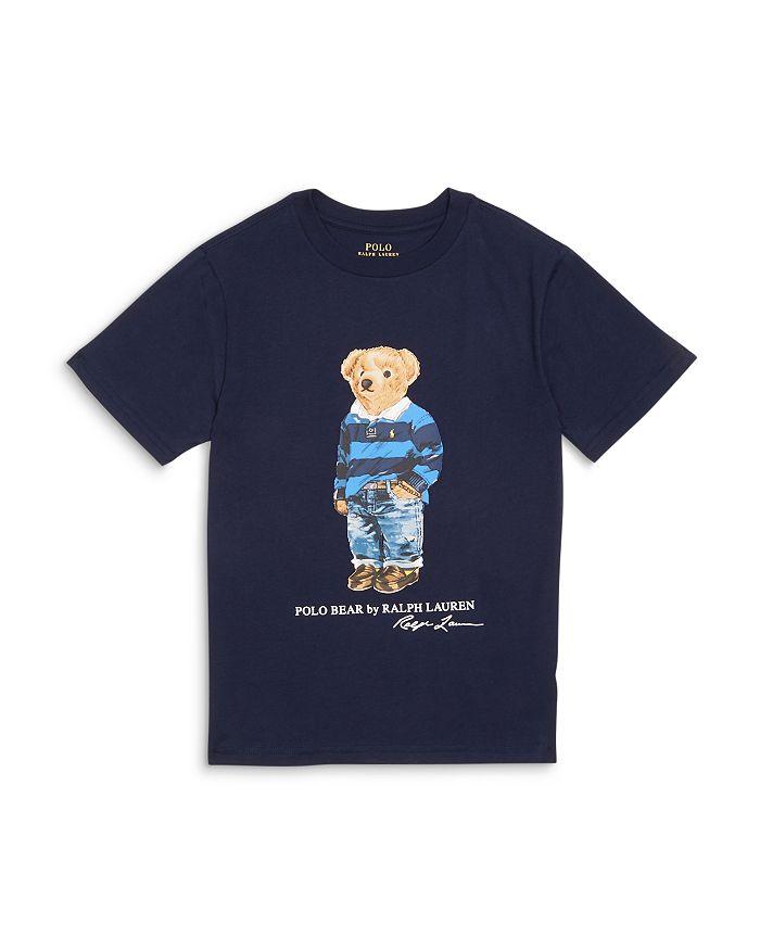 Ralph Lauren - Boys' Polo Bear Tee - Little Kid, Big Kid
