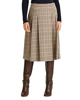 Ralph Lauren - Plaid A Line Skirt