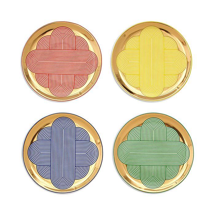 Jonathan Adler - Pompidou Coasters, Set of 4
