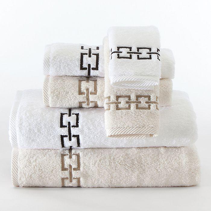"""Matouk - """"Cadiz"""" Towels"""
