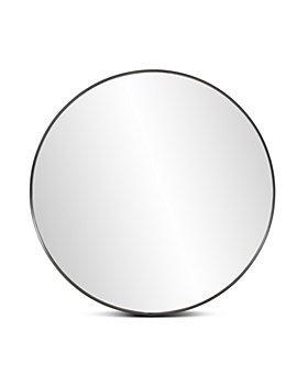 Howard Elliott - Steele Black Round Mirror