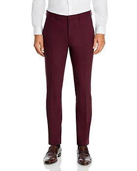 HUGO - Hesten Stretch Solid Extra Slim Fit Suit Pants
