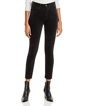 7 For All Mankind - Skinny Velvet Ankle Jeans