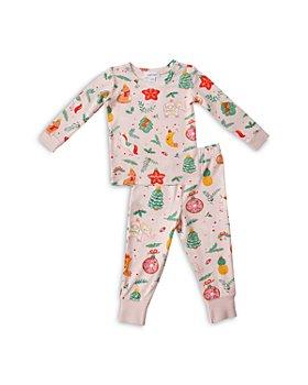 Angel Dear - Girls' Ornament Print Top & Leggings Set - Baby