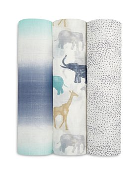 Aden and Anais - 3 Pk. Silky Soft Printed Swaddles