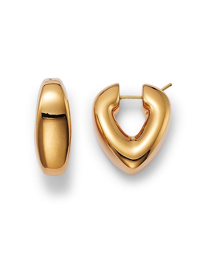 Alberto Amati 14k Yellow Gold V Shape Hoop Earrings - 100% Exclusive