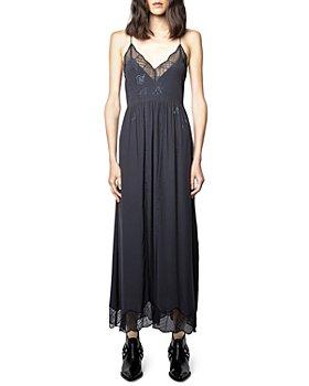 Zadig & Voltaire - Ralla Rhinestone Lace Maxi Dress