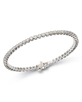 Bloomingdale's - Certified Diamond Tennis Bracelet in 14K White Gold, 2.50-8.0 ct. t.w. - 100% Exclusive