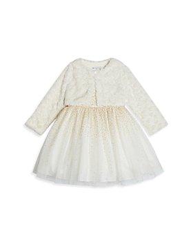 Pippa & Julie - Girls' Glittery Cardigan Dress - Baby