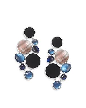 Ippolita Sterling Silver Wonderland Multi Stone Doublet Chandelier Earrings in Astro-Jewelry & Accessories