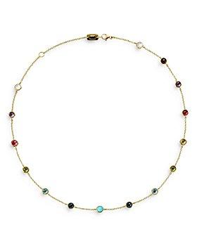 "IPPOLITA - 18K Yellow Gold Lollipop® Multi Stone Station Necklace, 16"""