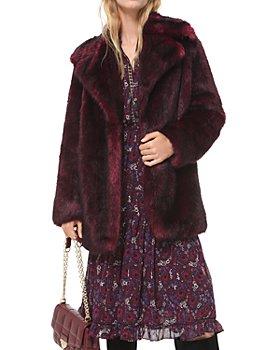 MICHAEL Michael Kors - Faux Fur Coat