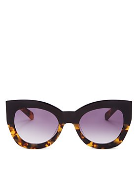 Karen Walker - Women's Northern Lights Cat Eye Sunglasses, 51MM