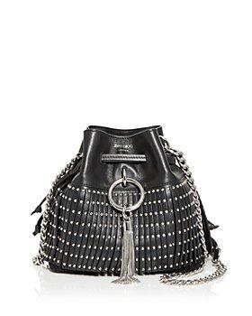 Jimmy Choo - Callie Studded Leather Bucket Bag