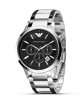 Emporio Armani - Quartz Chronograph Stainless Steel Watch, 43 mm