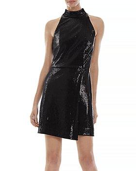 HALSTON - Pallas Embellished Mini Dress