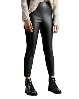 Ted Baker - Faux Leather Leggings