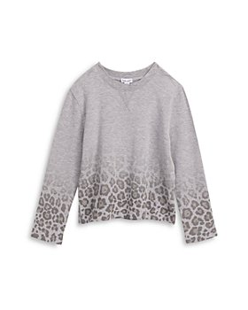 Splendid - Girls' Ombré Leopard Print Sweatshirt - Big Kid