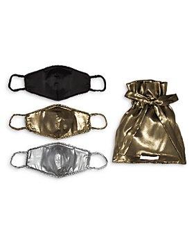 WAYF - Metallic Reusable Face Mask, Set of 3