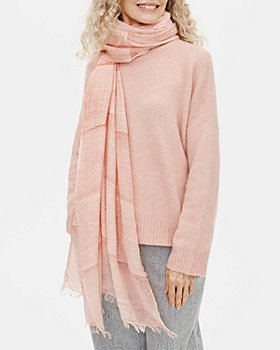Eileen Fisher - Sheer Fringed Scarf