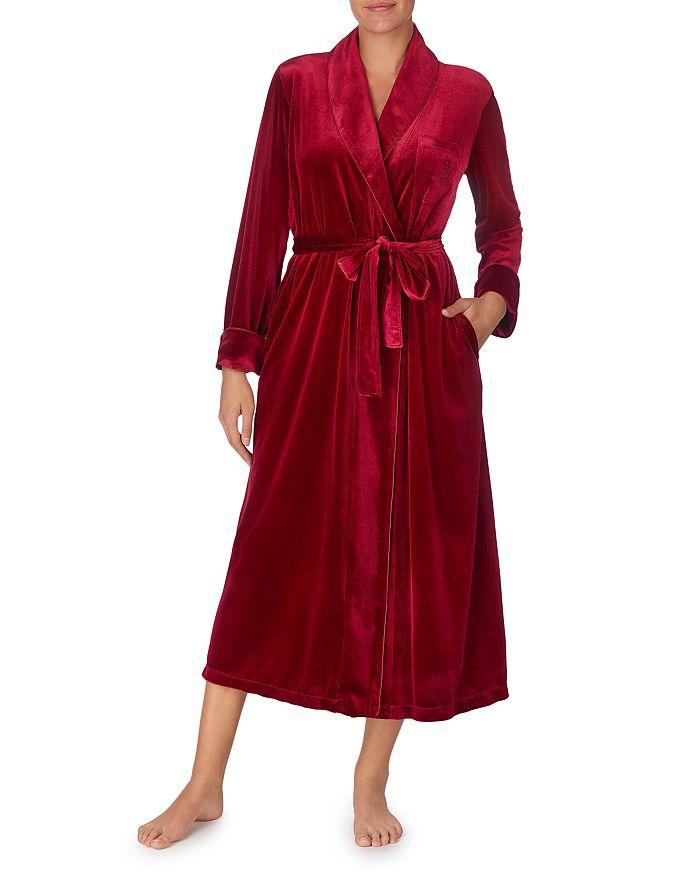 Ralph Lauren - Long Velvet Wrap Robe