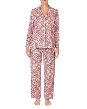 Ralph Lauren - Paisley Print Cotton Pajama Set