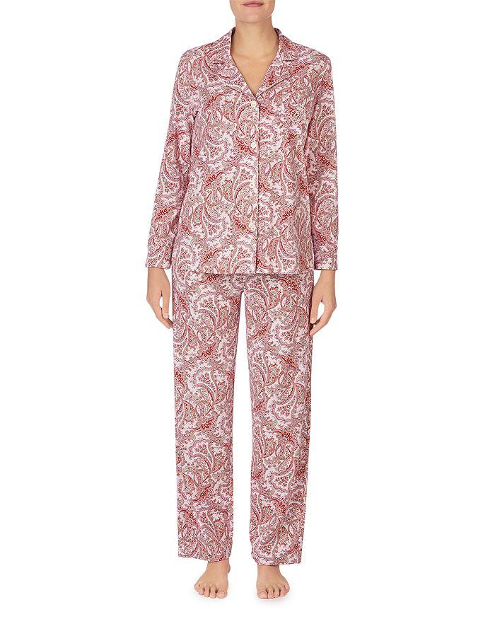 Ralph Lauren - Paisley Print Cotton Pajama Set