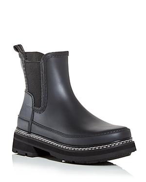 Women's Waterproof Block Heel Chelsea Boots