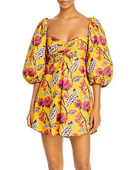 A.L.C. - Elle Floral Print Dress