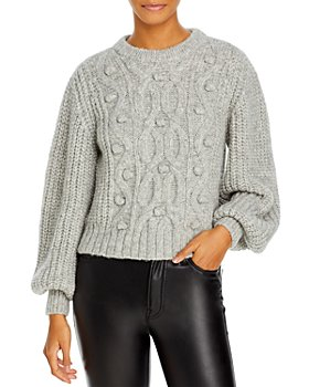 Eleven Six - June Chunky Cable Knit Sweater