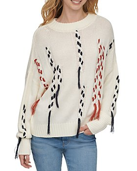 DKNY - Thread Threw Cable Knit Sweater