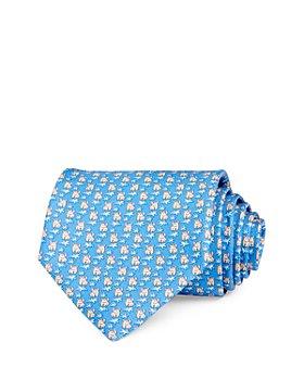 Salvatore Ferragamo - Rhinoceros Silk Classic Necktie