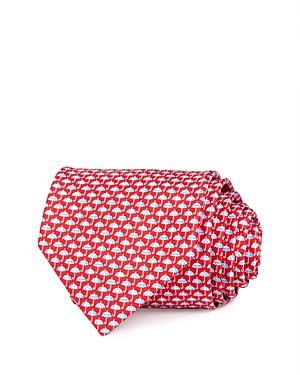 Salvatore Ferragamo Umbrella Silk Classic Necktie-Men