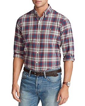 Polo Ralph Lauren - Classic Fit Plaid Oxford Button Down Shirt