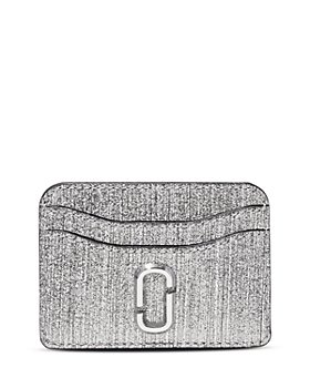 MARC JACOBS - Glitter Leather Card Case