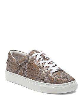 J/Slides - Women's Lace  Low Top Sneakers
