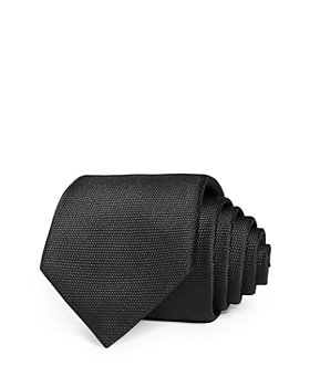 BOSS - Solid Micro Weave Silk Classic Necktie