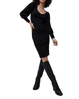 FRENCH CONNECTION - Joss Balloon Sleeve Knit Dress