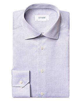 Eton - Contemporary Fit Jacquard Dress Shirt