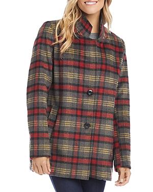 Karen Kane Plaid Jacket