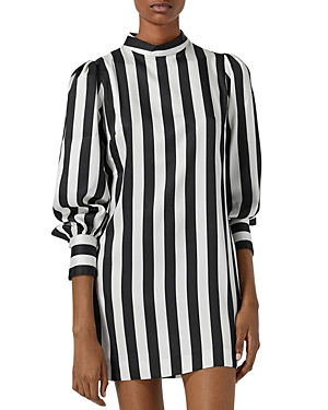 The Kooples STRIPED MINI DRESS