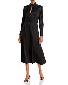WAYF - Holly Keyhole Midi Dress