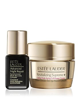 Estée Lauder - Plus, spend $125 and receive an Advanced Night Repair Synchronized Recovery Complex and Revitalizing Supreme+ Global Anti-Aging Cell Power Creme duo!